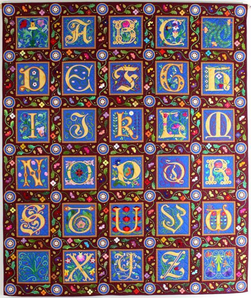 Illuminated Alphabet; large