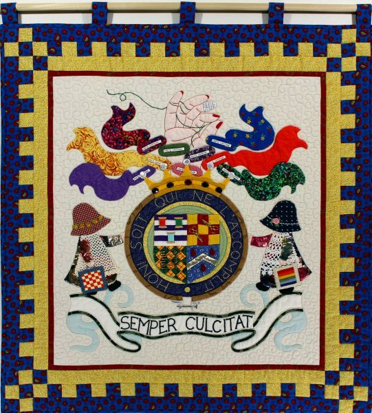 A Quilter's Crest; large