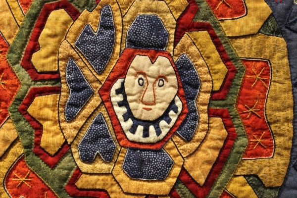 Close-up of The Legend of Guimar
