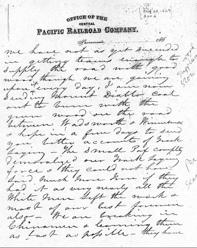 Smallpox Letter
