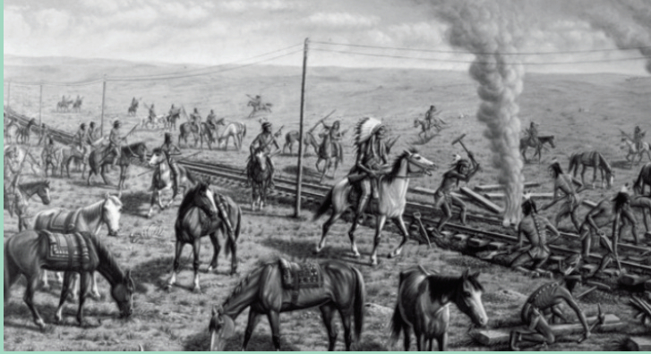 Native Americans working on Union Pacific