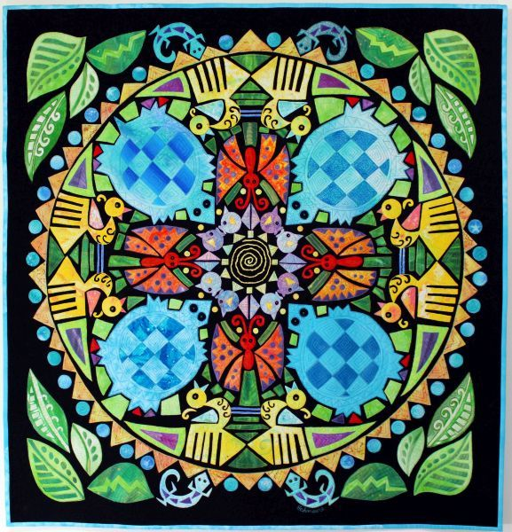 Turquoise Turtles & Friends; large