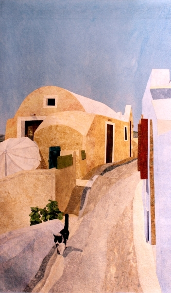The Sentry of Santorini Island