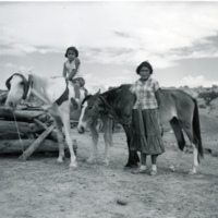 Lydia Rose Betoni (standing) and her younger sister at<br />