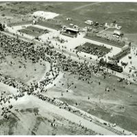 Aerial Photograph of 1969 Celebration